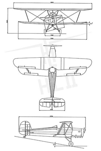 Lambach HL II Technical Drawing