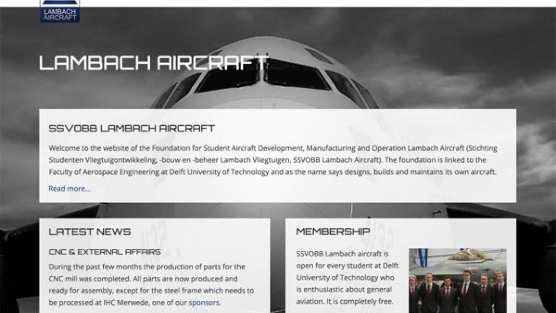 New website SSVOBB Lambach Aircraft