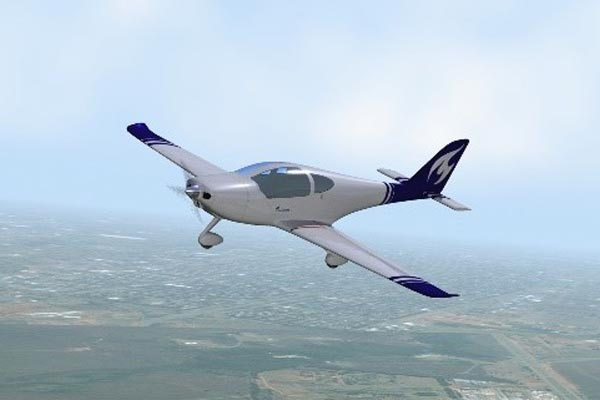S-Vision Flight Render